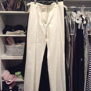 Bernard Zins White Trousers